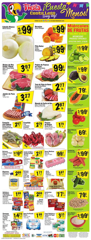 Fiesta Mart Weekly Ad Circular - valid 02/19-02/25/2020