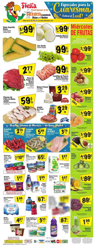 Fiesta Mart Weekly Ad Circular - valid 03/18-03/24/2020