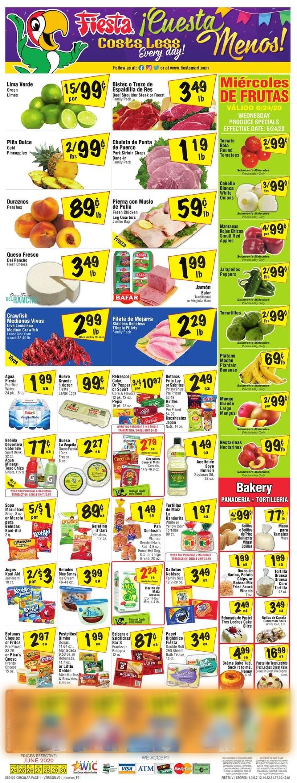Fiesta Mart Weekly Ad Circular - valid 06/24-06/30/2020