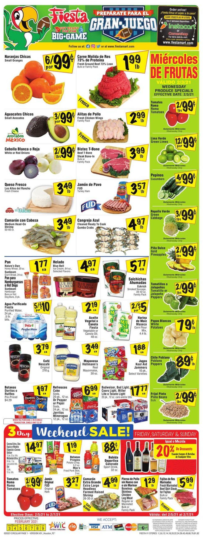 Fiesta Mart Weekly Ad Circular - valid 02/03-02/09/2021