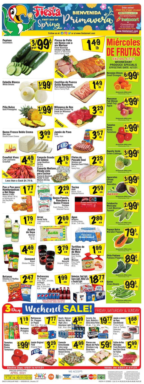 Fiesta Mart Weekly Ad Circular - valid 04/07-04/13/2021