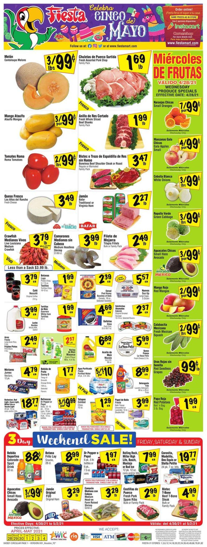Fiesta Mart Weekly Ad Circular - valid 04/28-05/04/2021