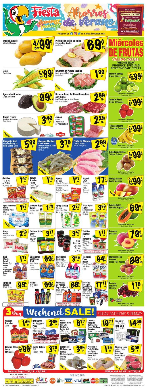 Fiesta Mart Weekly Ad Circular - valid 07/21-07/27/2021
