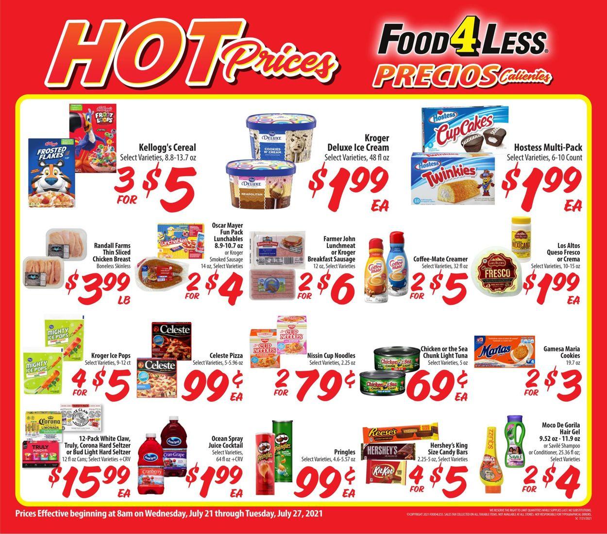 Food 4 Less Weekly Ad Circular - valid 07/21-07/27/2021 (Page 2)