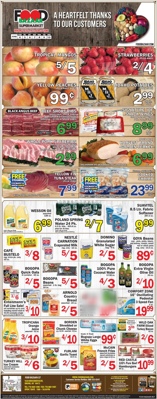 Food Bazaar Weekly Ad Circular - valid 06/04-06/10/2020