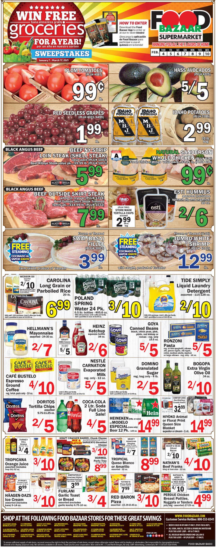 Food Bazaar Weekly Ad Circular - valid 02/04-02/10/2021