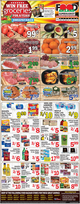 Food Bazaar Weekly Ad Circular - valid 02/18-02/24/2021