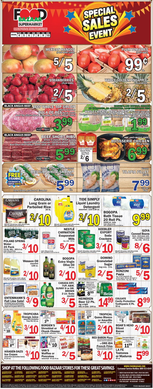 Food Bazaar Weekly Ad Circular - valid 03/04-03/10/2021