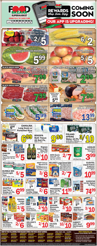 Food Bazaar Weekly Ad Circular - valid 06/10-06/16/2021