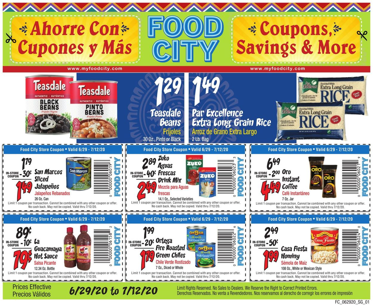 Food City Weekly Ad Circular - valid 06/29-07/12/2020
