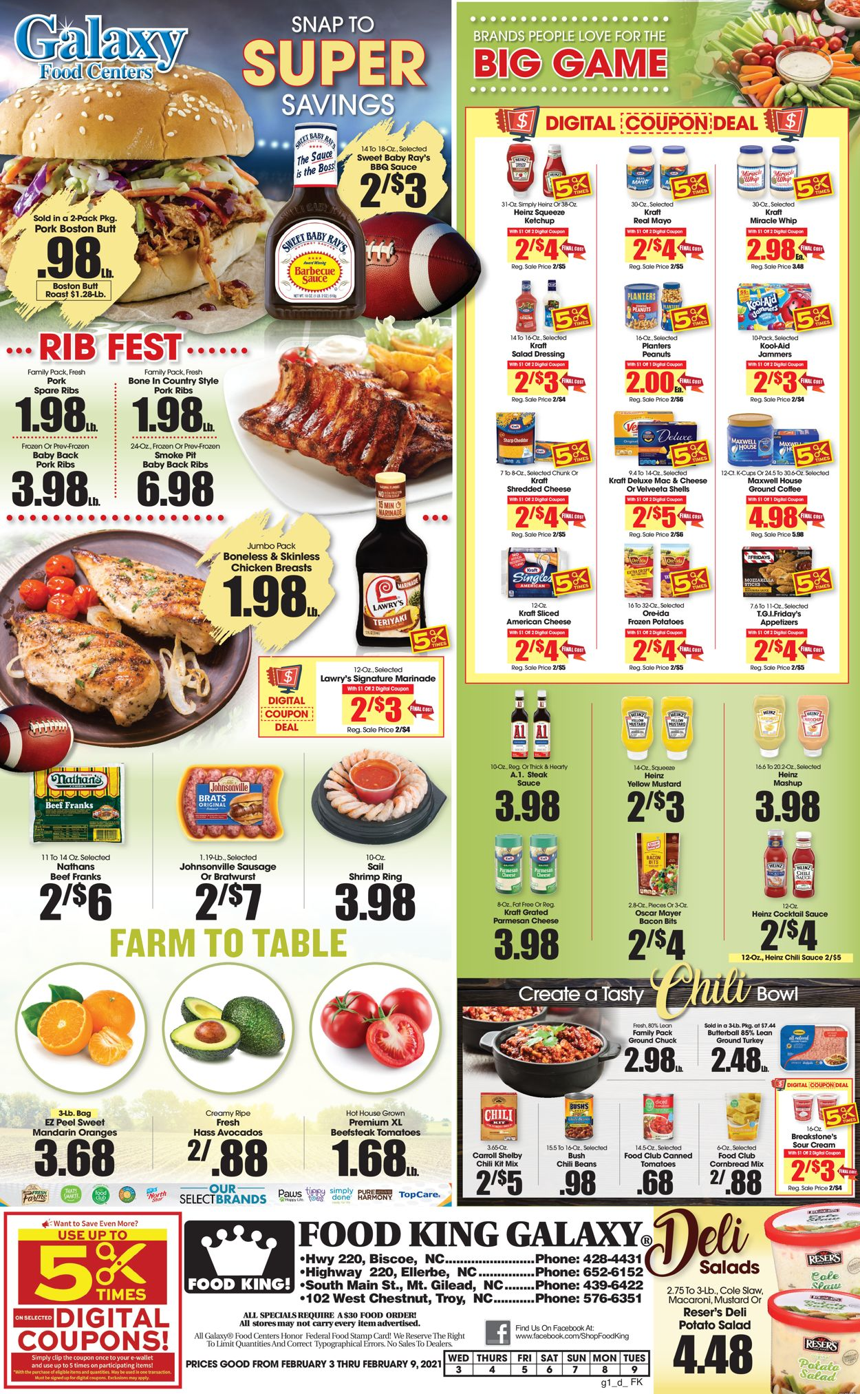 Food King Weekly Ad Circular - valid 02/03-02/09/2021