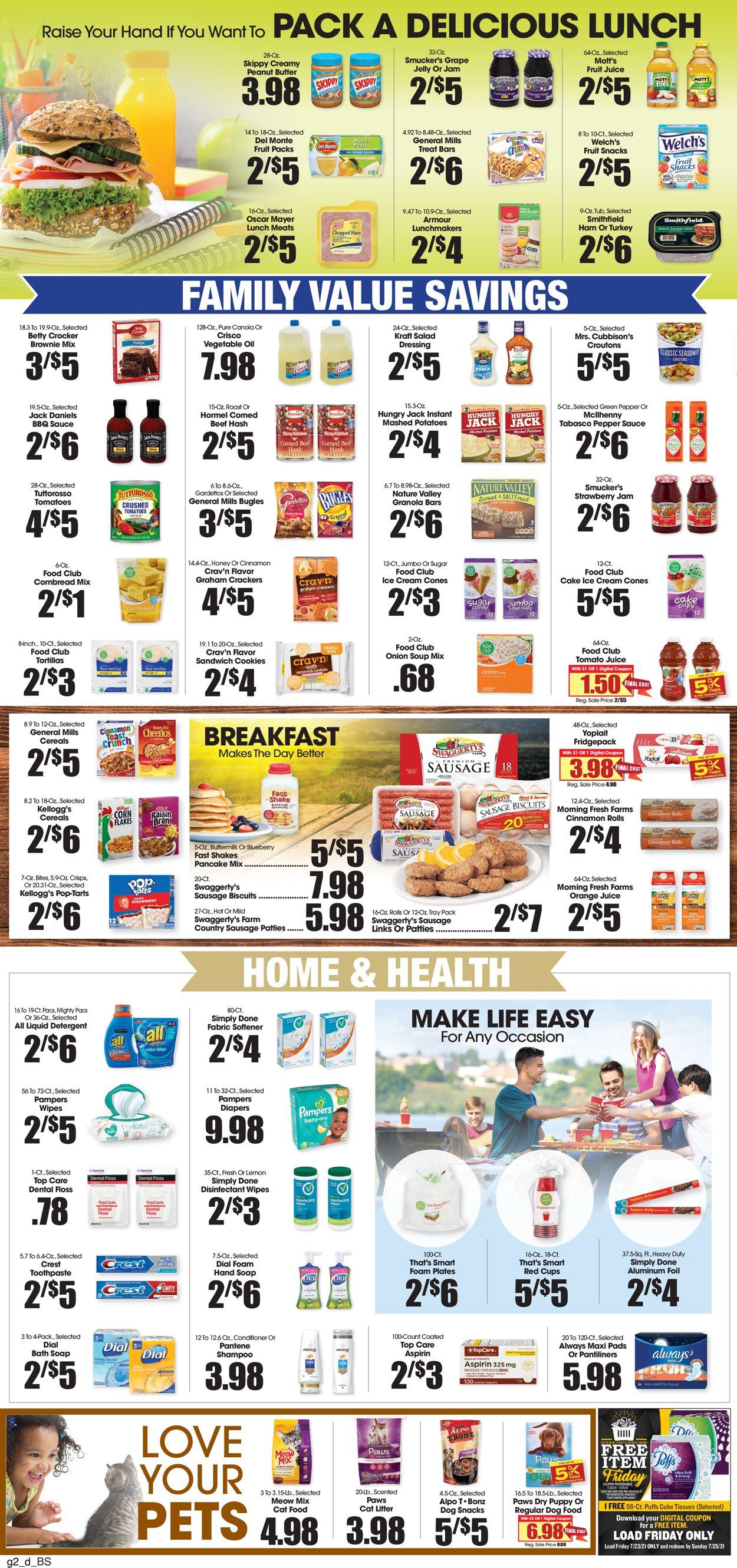 Food King Weekly Ad Circular - valid 07/21-07/27/2021 (Page 2)