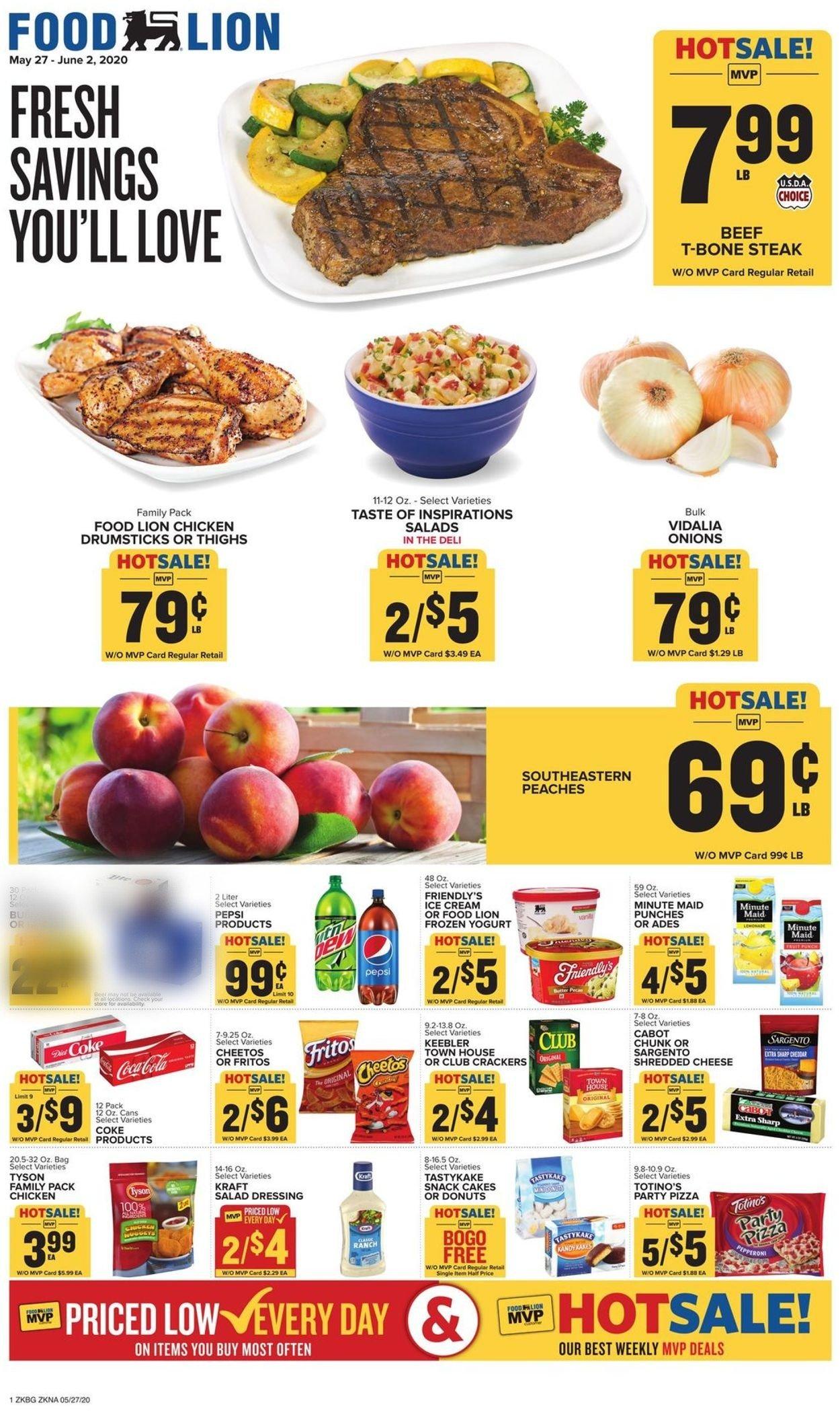 Food Lion Ad Circular 05 27 06 02 2020 Rabato