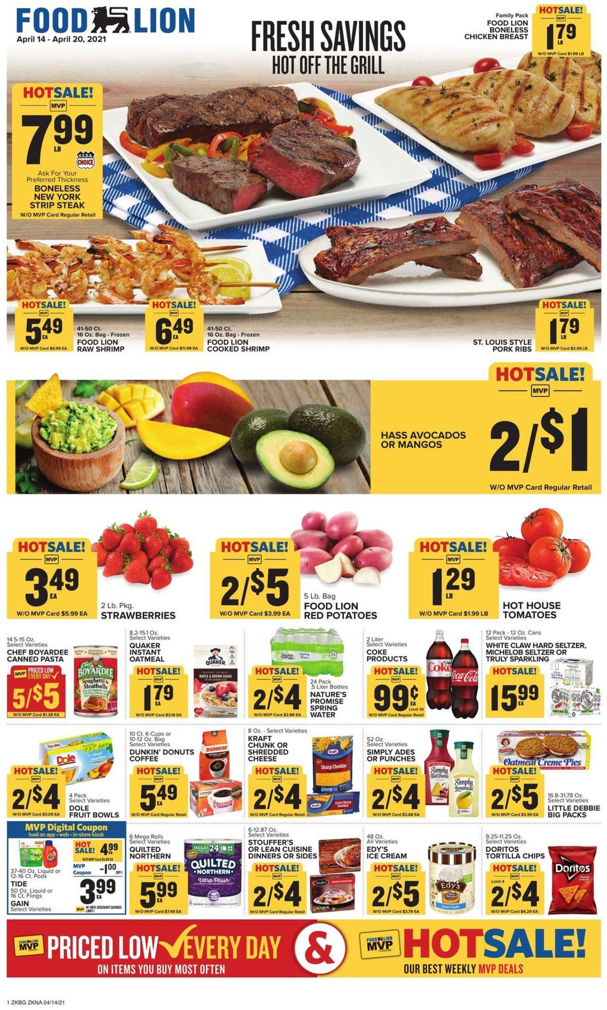 Food Lion Weekly Ad Circular - valid 04/14-04/20/2021