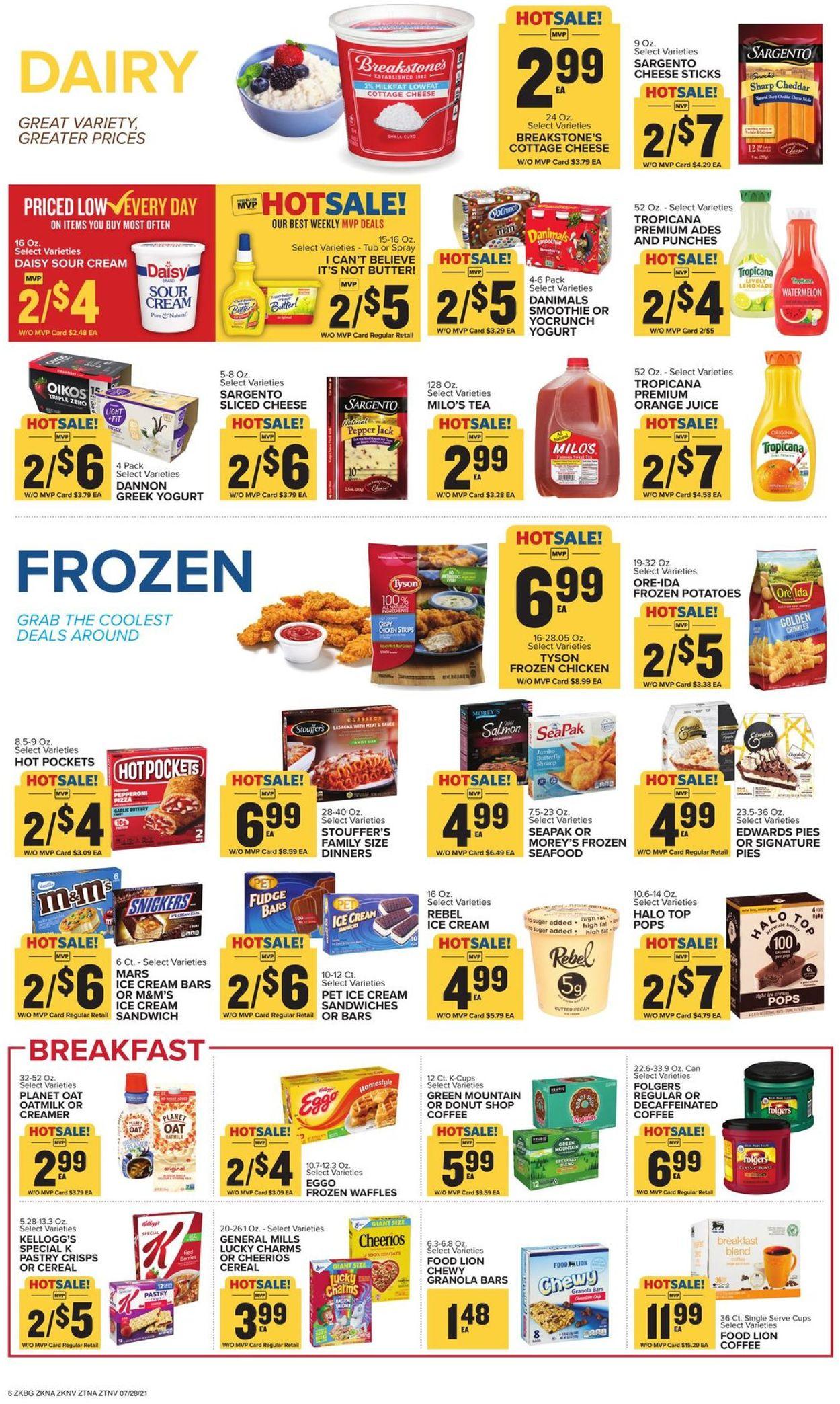 Food Lion Weekly Ad Circular - valid 07/28-08/03/2021 (Page 8)
