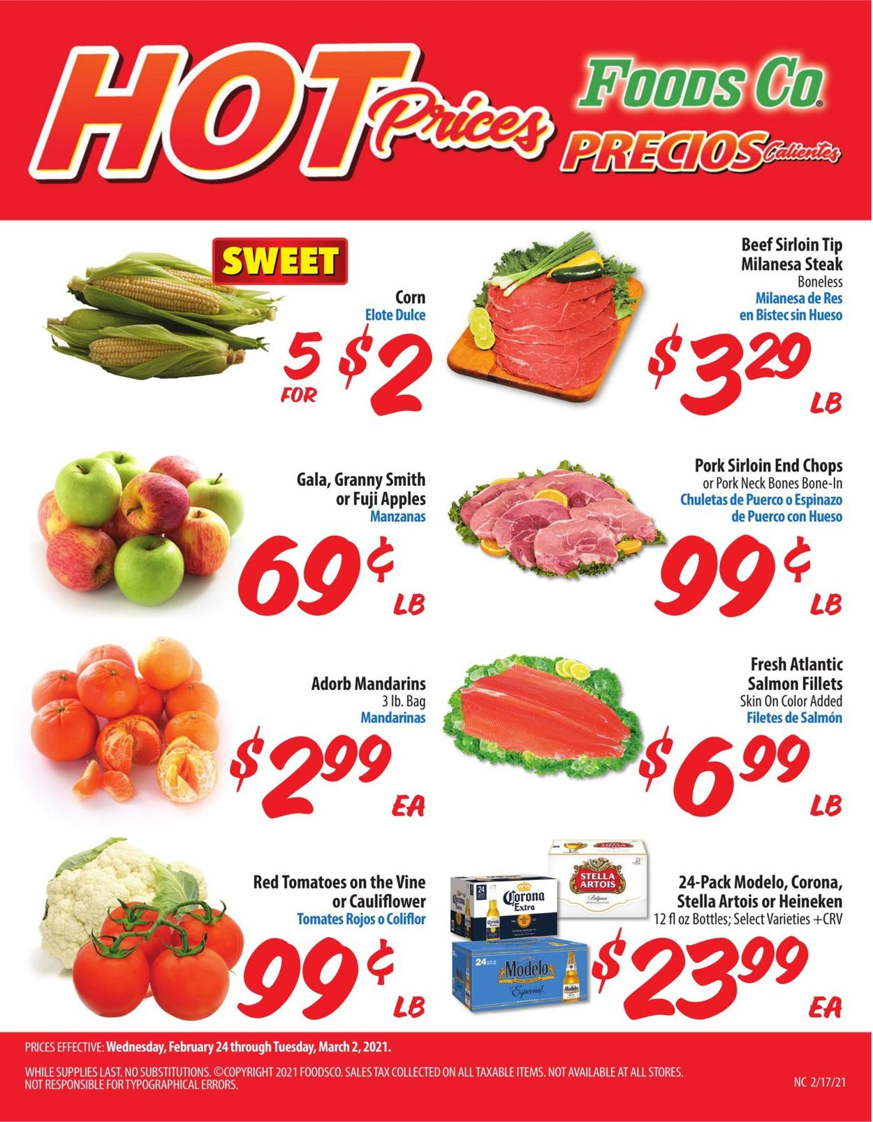 Foods Co. Weekly Ad Circular - valid 02/24-03/02/2021