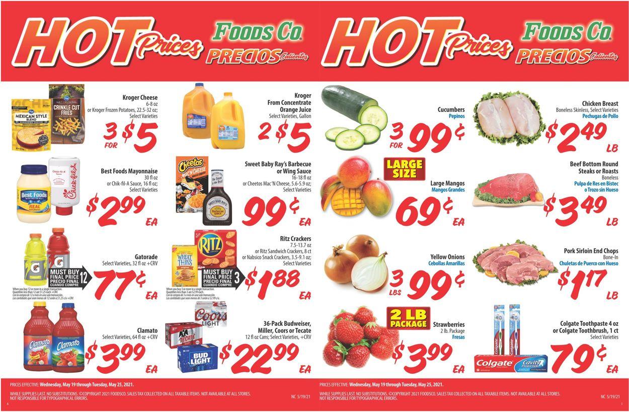 Foods Co. Weekly Ad Circular - valid 05/19-05/25/2021