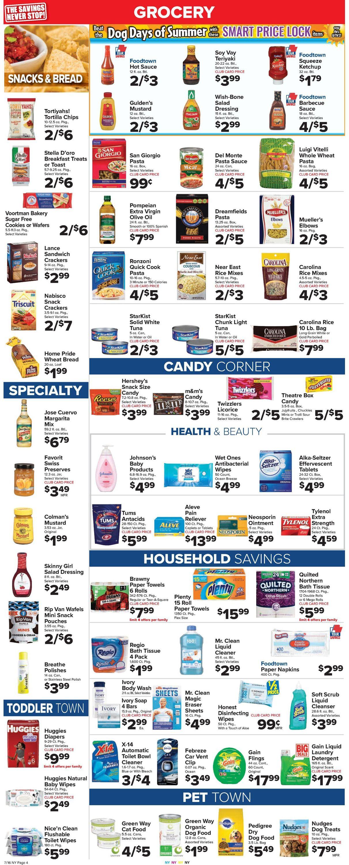 Foodtown Weekly Ad Circular - valid 07/16-07/22/2021 (Page 6)