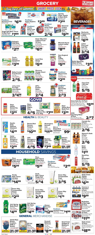 Foodtown Weekly Ad Circular - valid 07/16-07/22/2021 (Page 7)