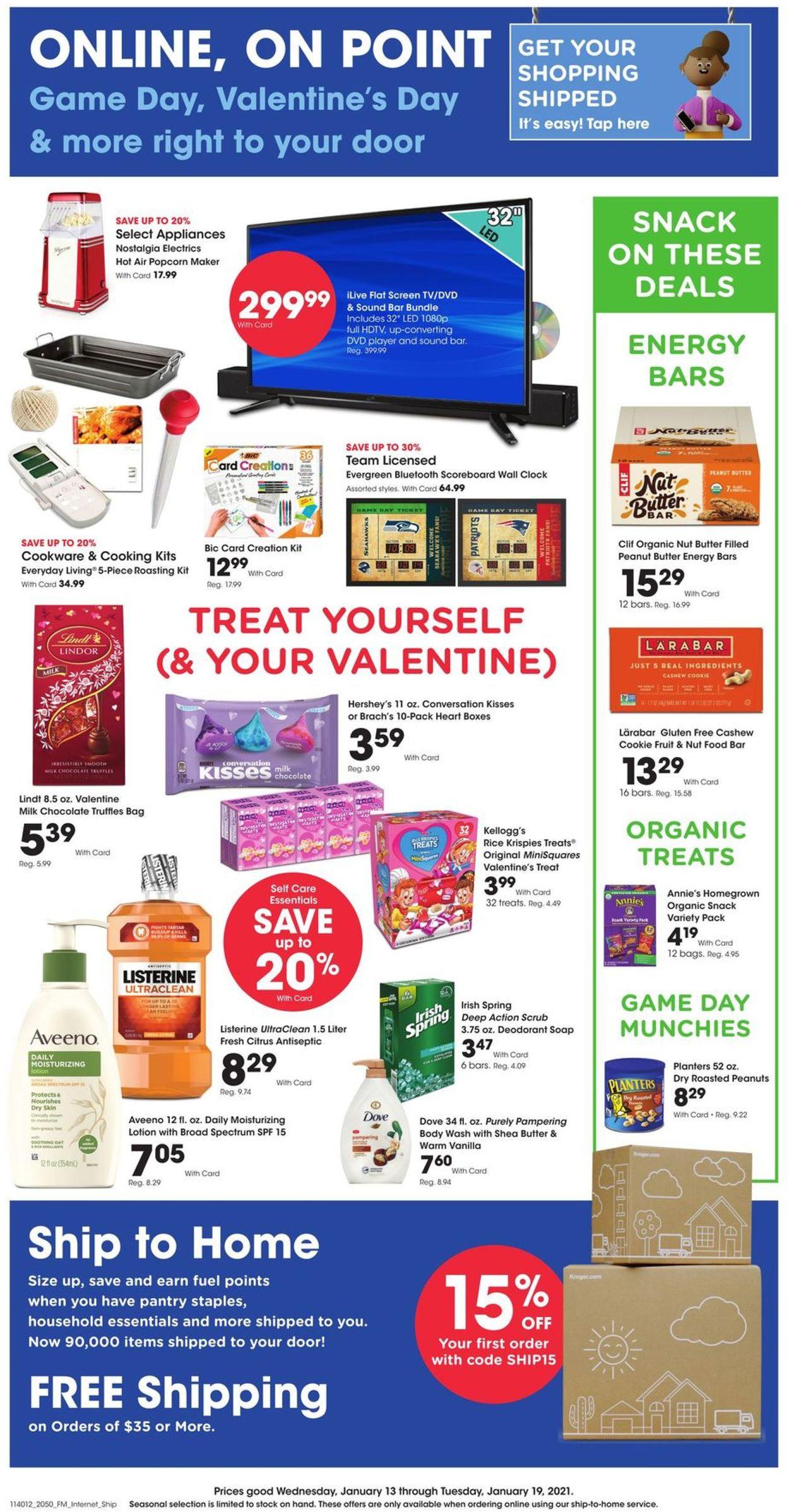 Fred Meyer Weekly Ad Circular - valid 01/13-01/19/2021