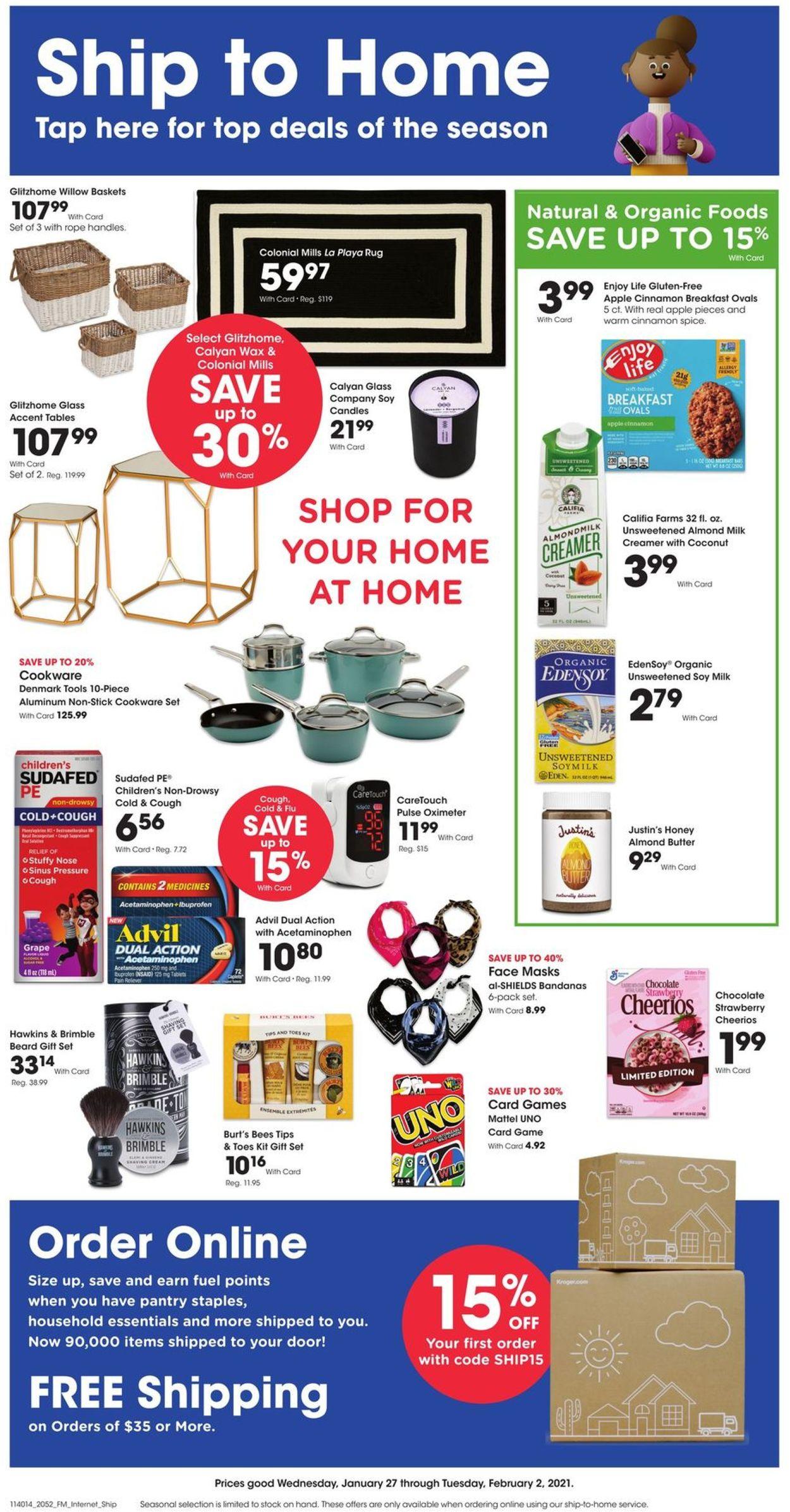 Fred Meyer Weekly Ad Circular - valid 01/27-02/02/2021