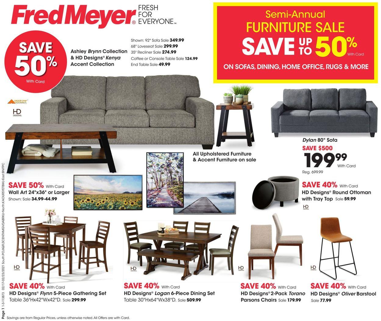 Fred Meyer Weekly Ad Circular - valid 02/17-02/23/2021