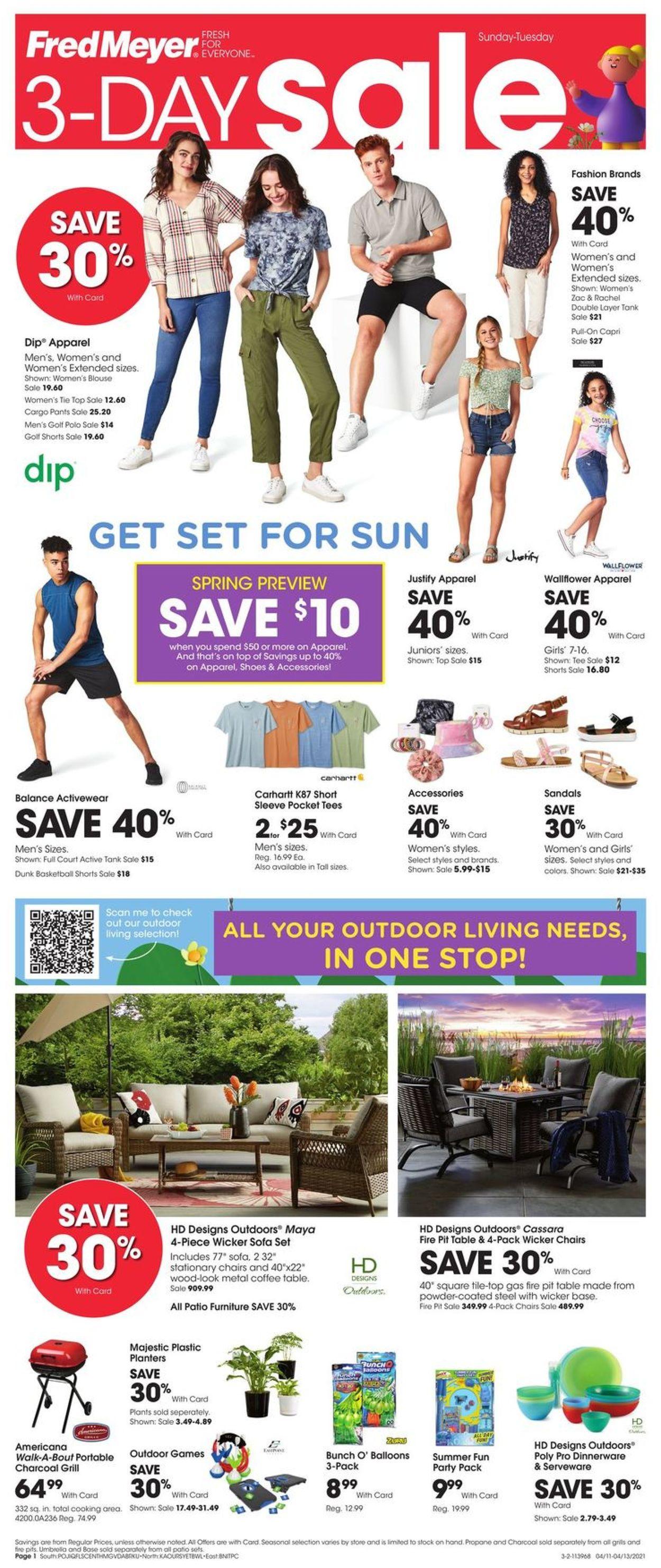 Fred Meyer Weekly Ad Circular - valid 04/11-04/13/2021