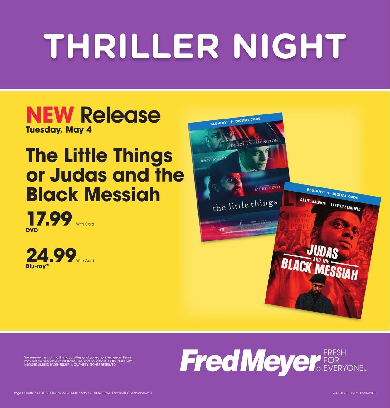 Fred Meyer Weekly Ad Circular - valid 05/02-05/07/2021