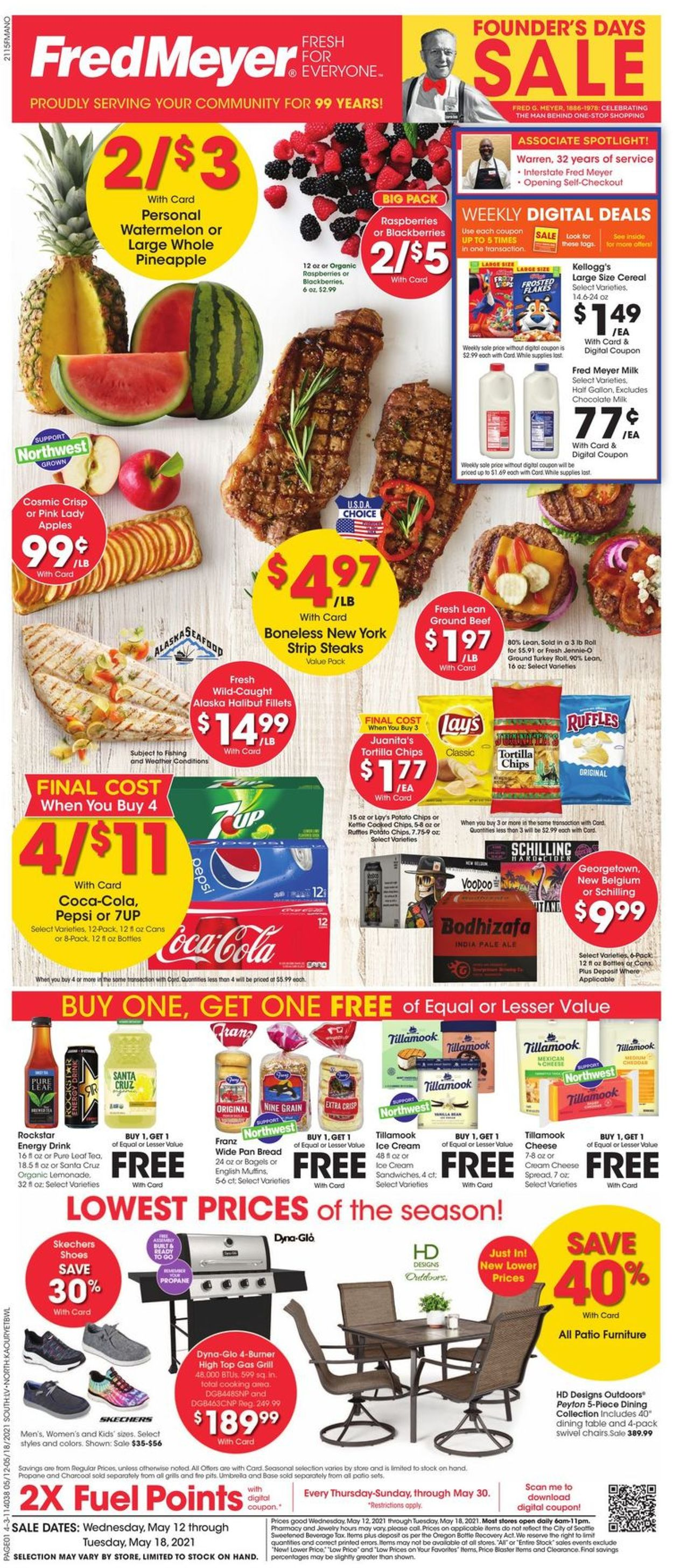 Fred Meyer Weekly Ad Circular - valid 05/12-05/18/2021