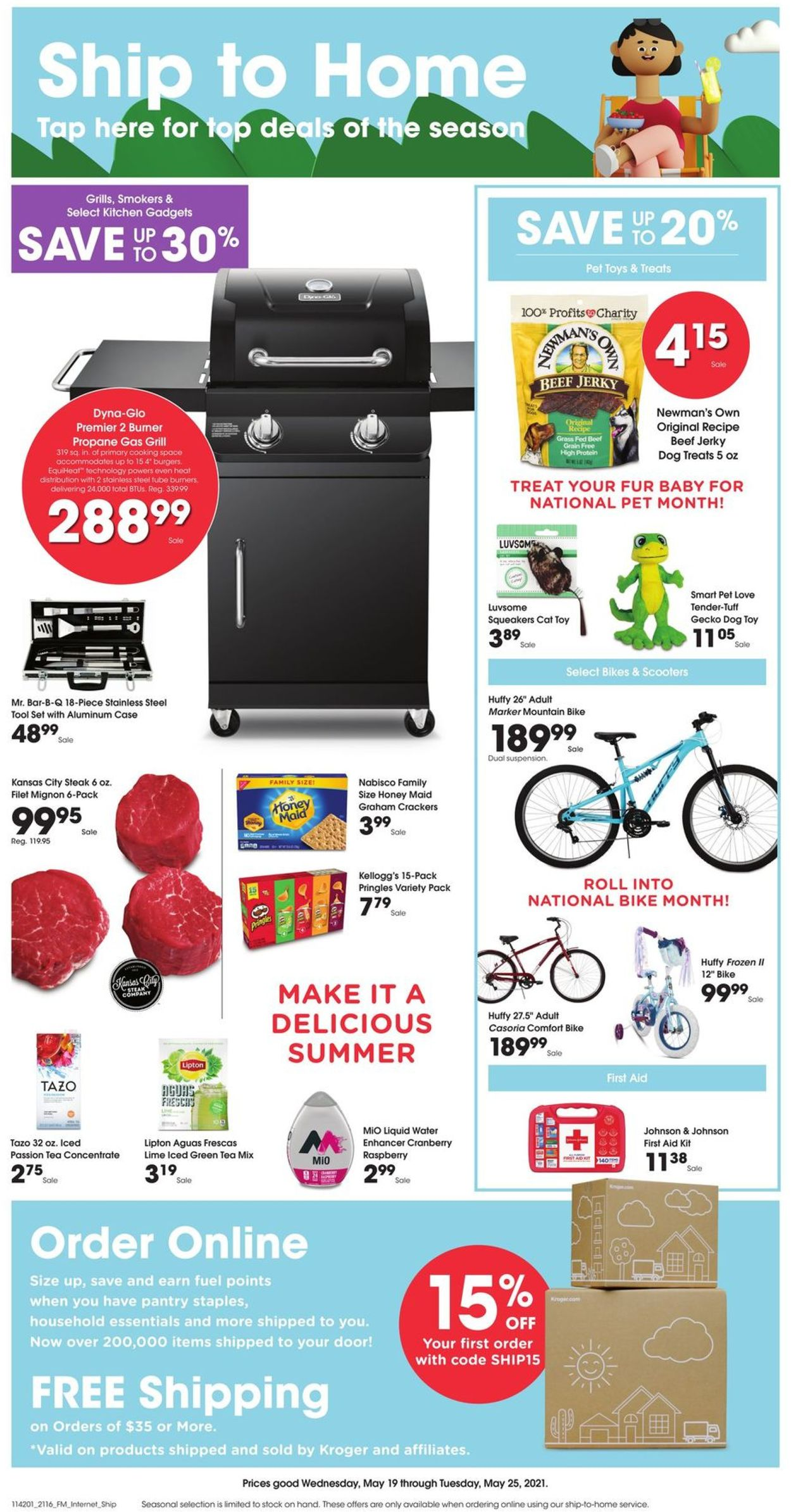 Fred Meyer Weekly Ad Circular - valid 05/19-05/25/2021