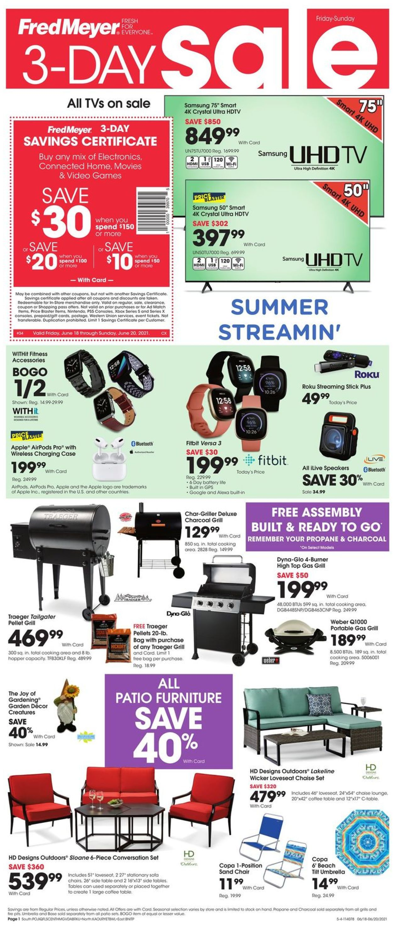 Fred Meyer Weekly Ad Circular - valid 06/18-06/20/2021
