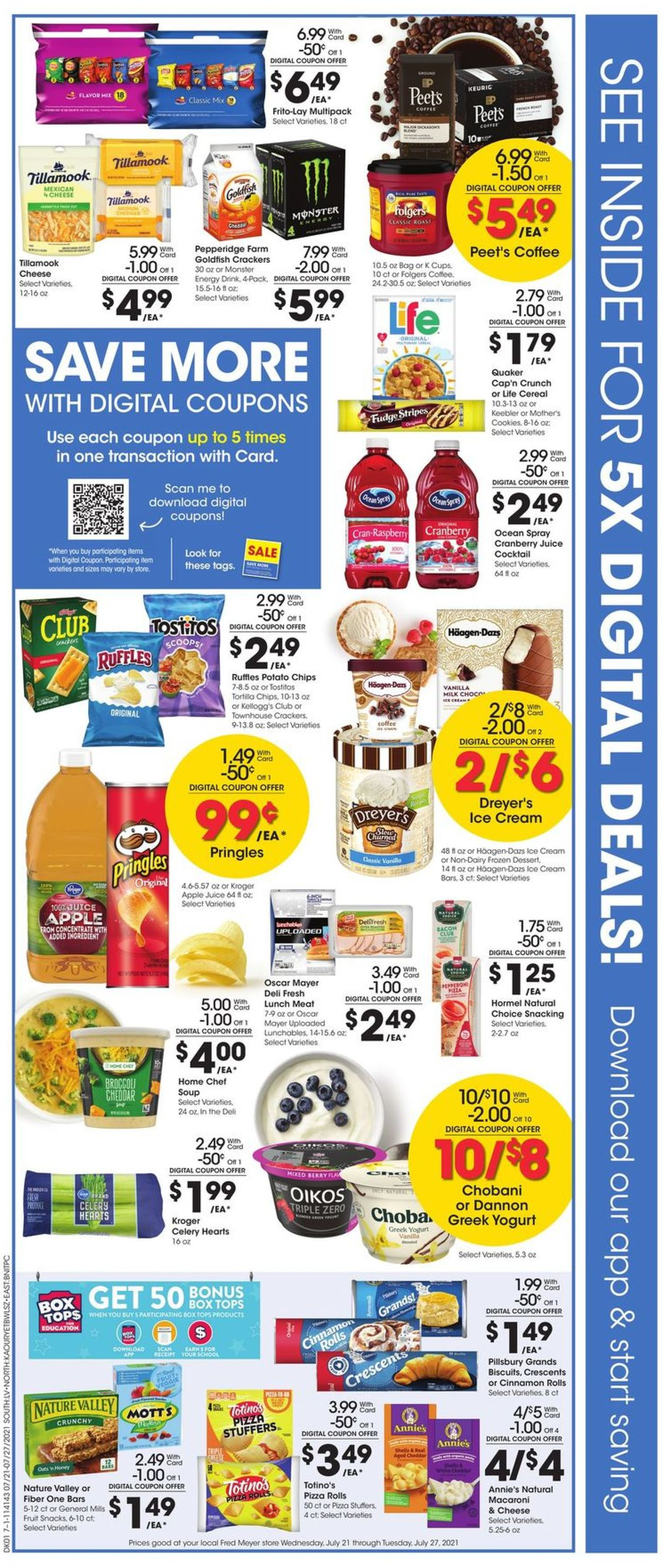 Fred Meyer Weekly Ad Circular - valid 07/21-07/27/2021 (Page 2)