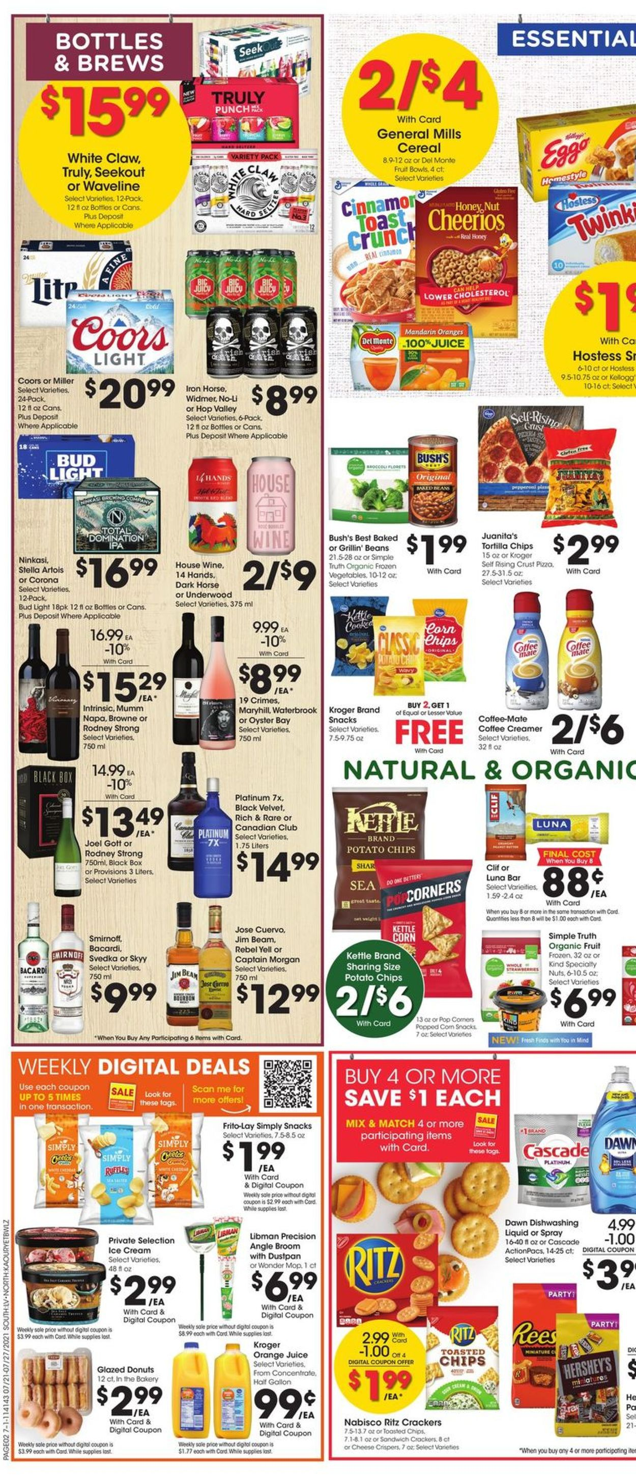 Fred Meyer Weekly Ad Circular - valid 07/21-07/27/2021 (Page 5)
