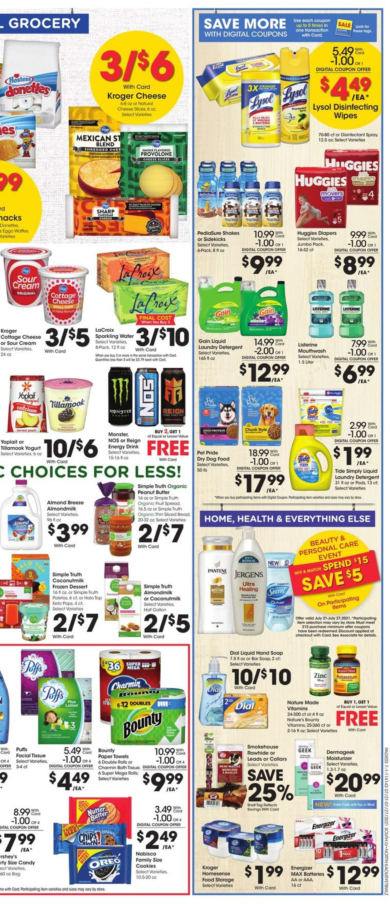 Fred Meyer Weekly Ad Circular - valid 07/21-07/27/2021 (Page 6)