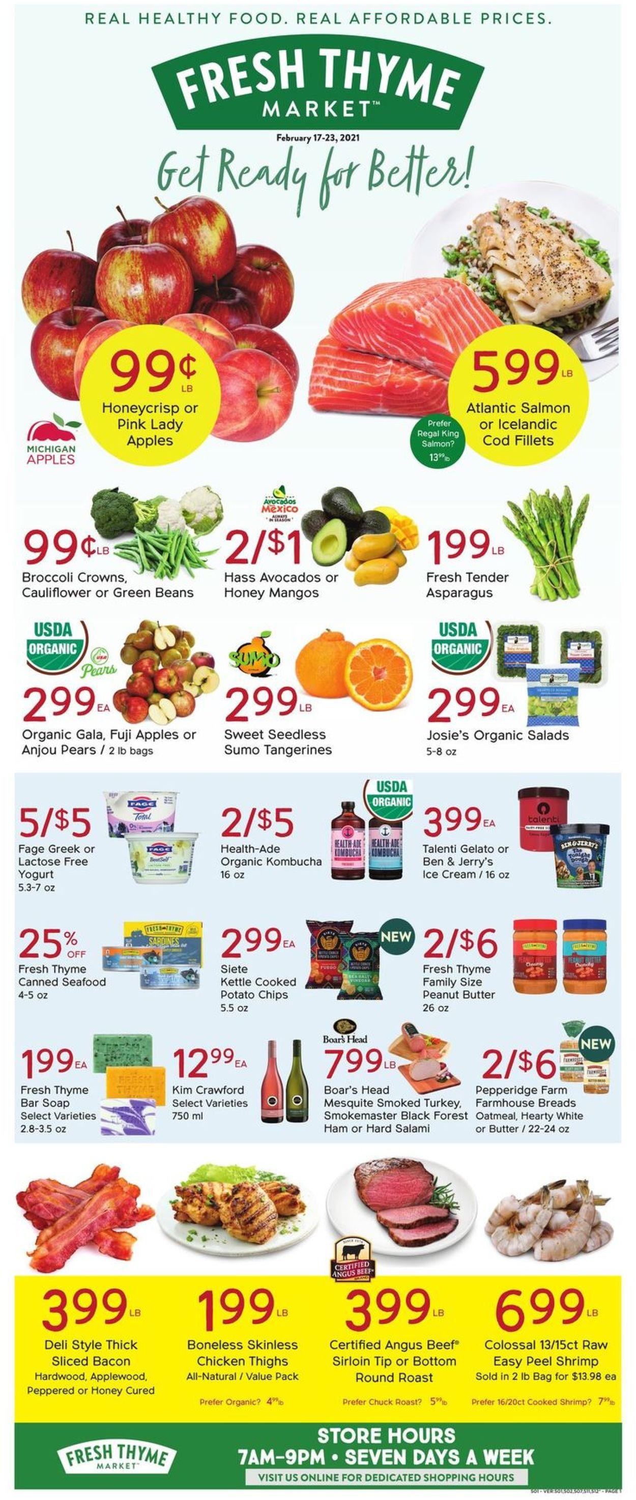 Fresh Thyme Weekly Ad Circular - valid 02/17-02/23/2021