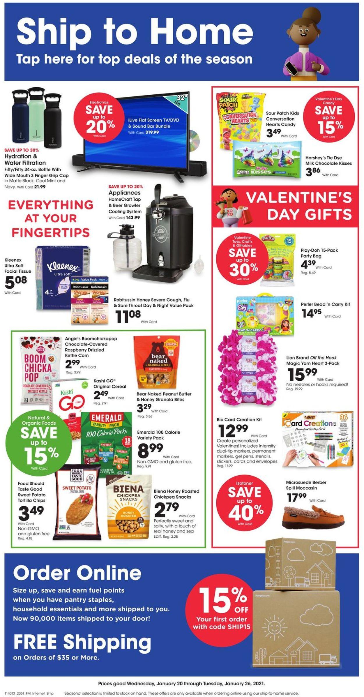 Fry's Weekly Ad Circular - valid 01/20-01/26/2021