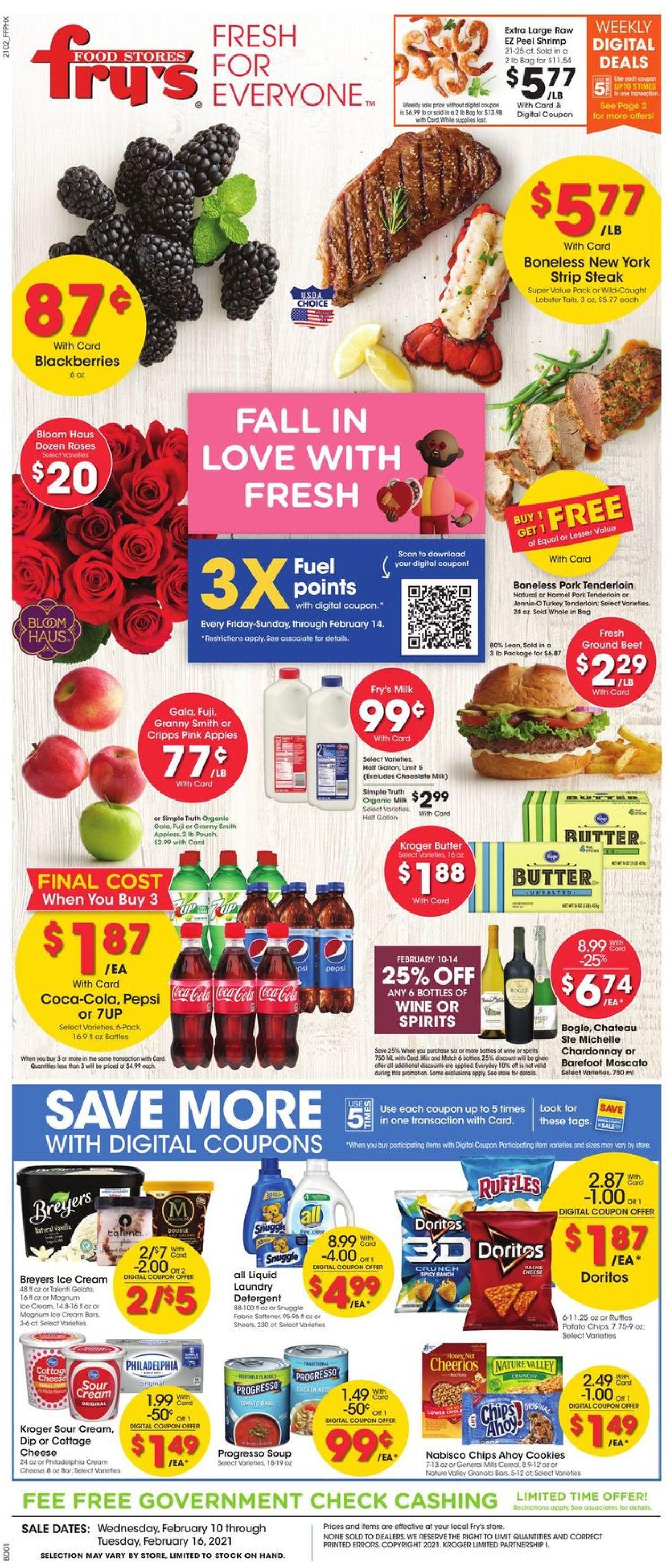 Fry's Weekly Ad Circular - valid 02/10-02/16/2021