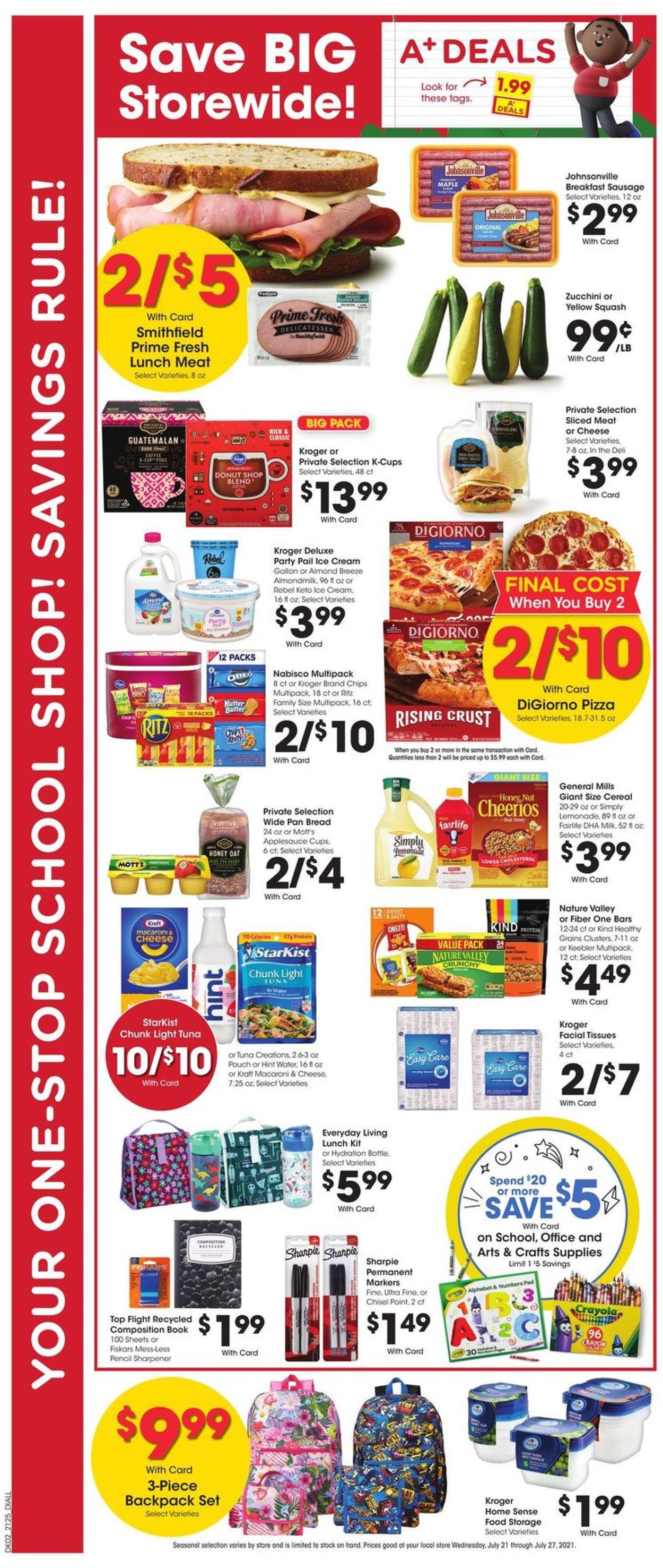 Gerbes Super Markets Weekly Ad Circular - valid 07/21-07/27/2021 (Page 4)