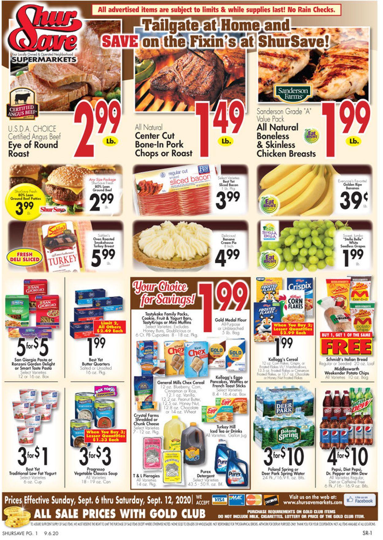 Gerrity's Supermarkets Weekly Ad Circular - valid 09/06-09/12/2020