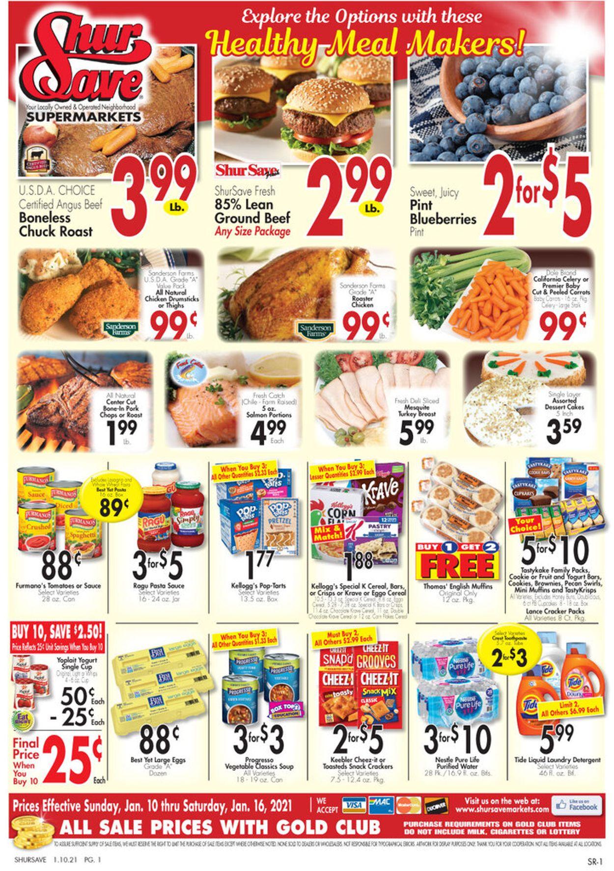 Gerrity's Supermarkets Weekly Ad Circular - valid 01/10-01/16/2021