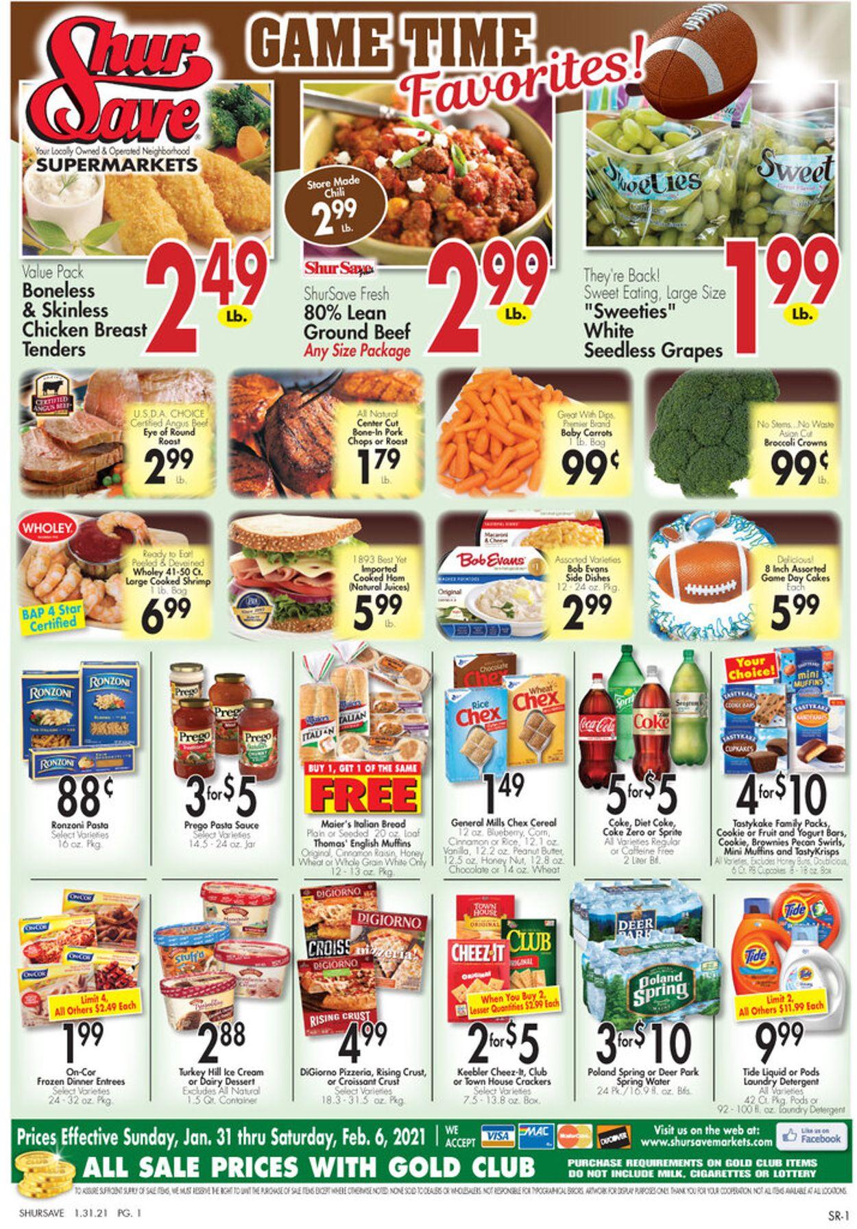 Gerrity's Supermarkets Weekly Ad Circular - valid 01/31-02/06/2021