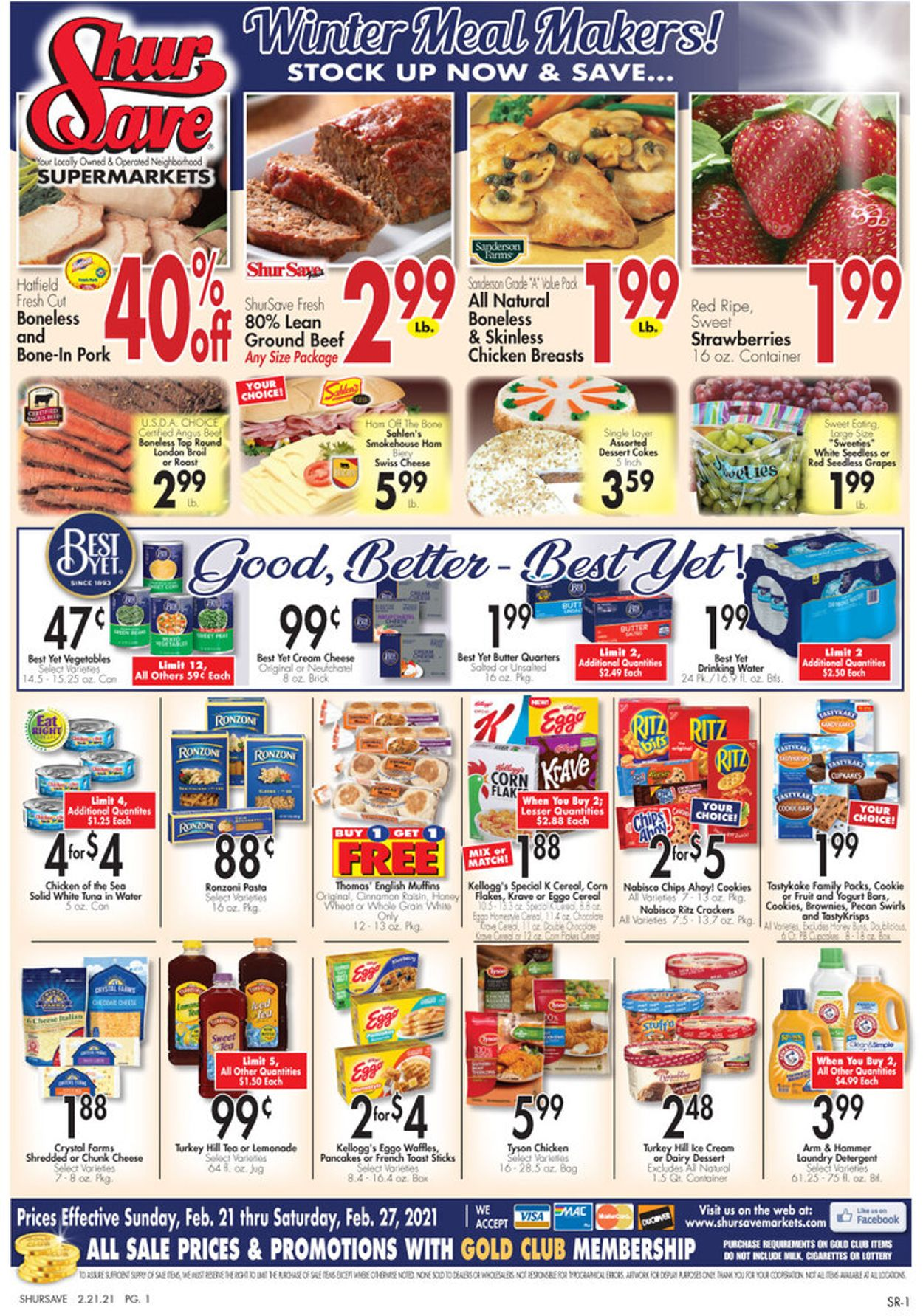Gerrity's Supermarkets Weekly Ad Circular - valid 02/21-02/27/2021