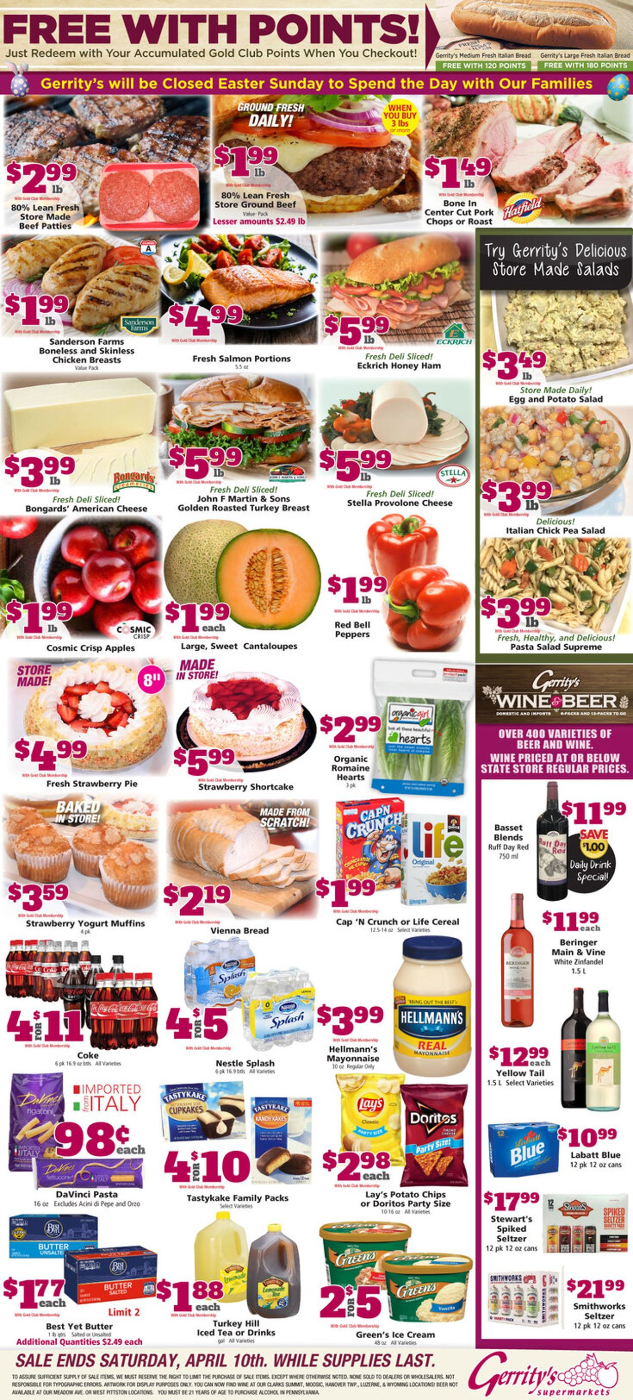 Gerrity's Supermarkets Weekly Ad Circular - valid 04/04-04/10/2021