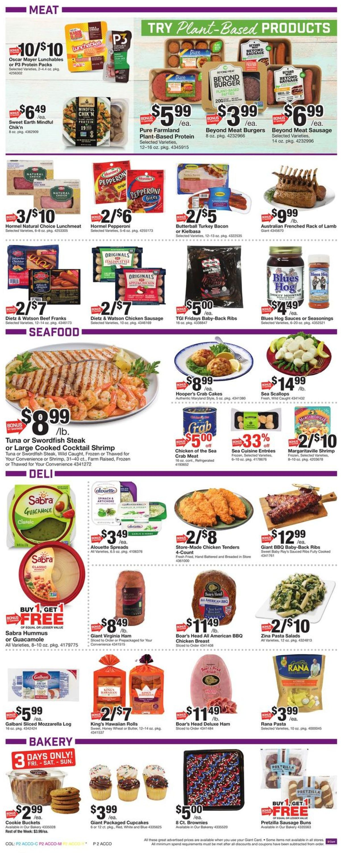 Giant Food Weekly Ad Circular - valid 07/03-07/09/2020 (Page 4)