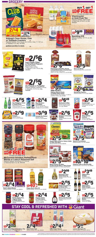Giant Food Weekly Ad Circular - valid 07/16-07/22/2021 (Page 8)