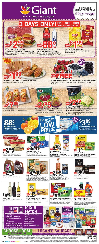 Giant Food Weekly Ad Circular - valid 07/23-07/29/2021