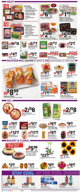 Giant Food Weekly Ad Circular - valid 07/30-08/05/2021 (Page 6)