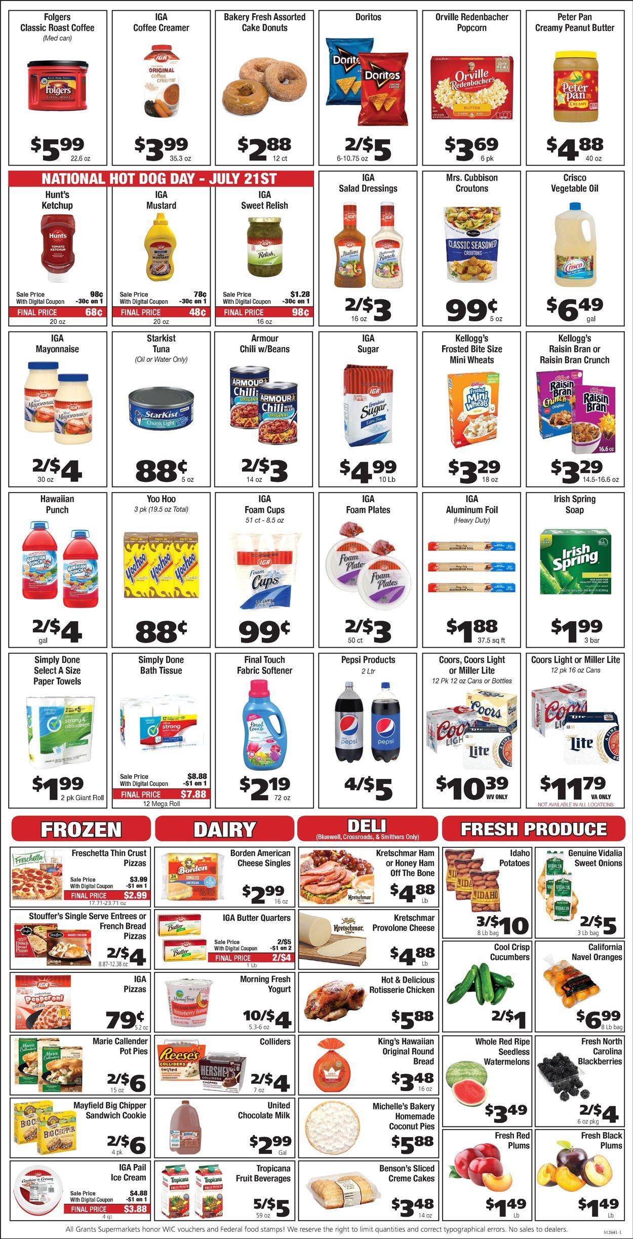 Grant's Supermarket Weekly Ad Circular - valid 07/21-07/27/2021 (Page 2)