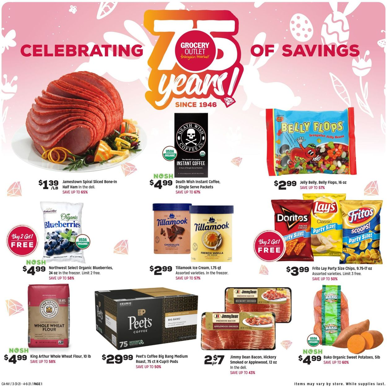 Grocery Outlet Weekly Ad Circular - valid 03/31-04/06/2021