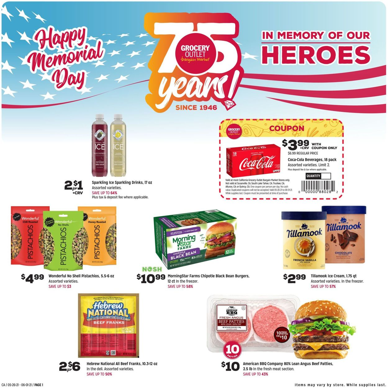 Grocery Outlet Weekly Ad Circular - valid 05/26-06/01/2021